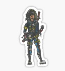 Cassandra Cain - Zombie Bats! Sticker