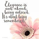 Elegance by Jessica Manelis