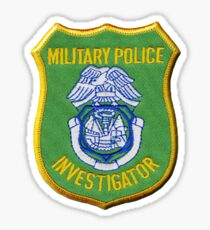 MP Investigator Sticker