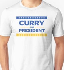 Curry for President T-Shirt