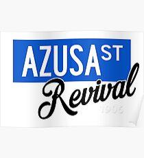 Azusa St Revival Poster