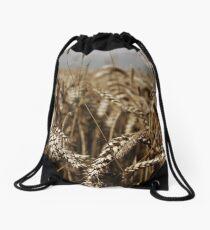 Corn Field Drawstring Bag