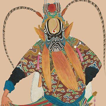Chinese Opera Character by joburgfreddy