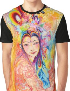 A Rainbow Goddess Graphic T-Shirt