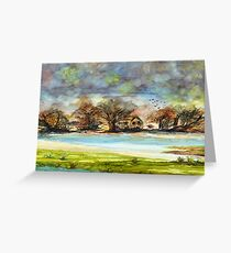 Quiet Dwellings Greeting Card