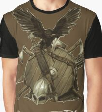 Blade, axe and shield Graphic T-Shirt
