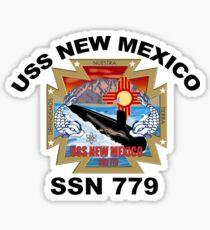 SSN-779 USS New Mexico Logo Sticker