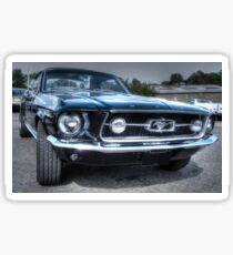 1967 Ford Mustang Sticker