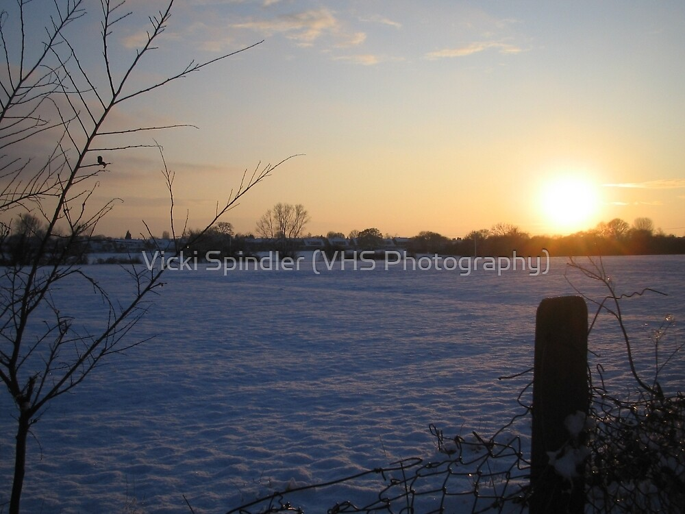 A Cold Sunset by Vicki Spindler (VHS Photography)
