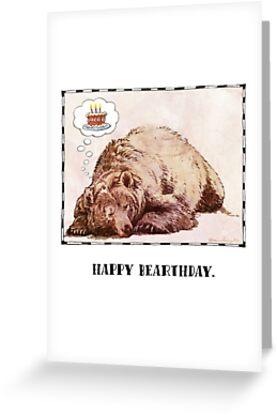 Happy Bearthday by missdaisydee