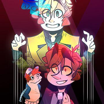 Sock Opera (Print/Poster) by AidaDoesDoodles