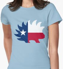Texas Libertarian Party Porcupine Women's Fitted T-Shirt