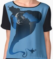 The Genie and the Moon  Women's Chiffon Top