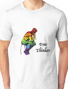 Free Thinker - Rainbow / Pride Unisex T-Shirt