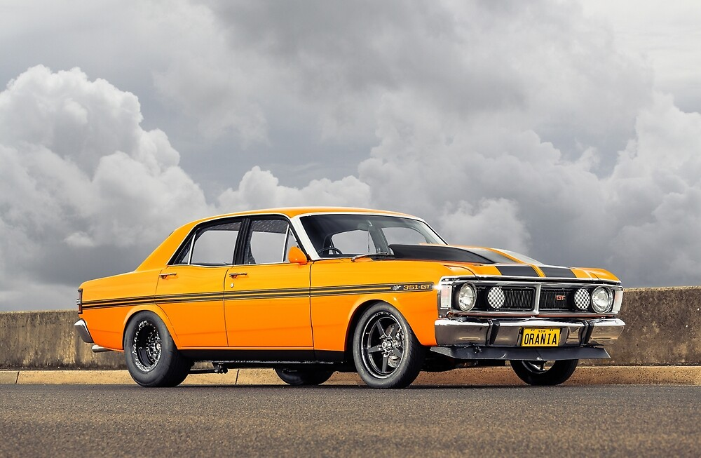 Steve Roussis' 1970 Ford XY Falcon by HoskingInd