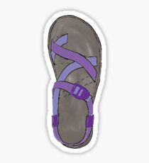 Purple Chaco Shoes Sticker
