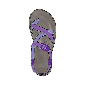 Purple Chaco Shoes by alitmcgary