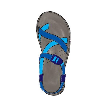 Blue Chaco Shoe by alitmcgary