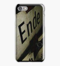 Ende iPhone Case/Skin
