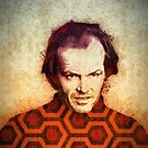 Jack Nicholson art in Stanley Kubrick's The Shining by densitydesign