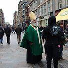 Saint Paddy goes shopping in Glasgow by biddumy