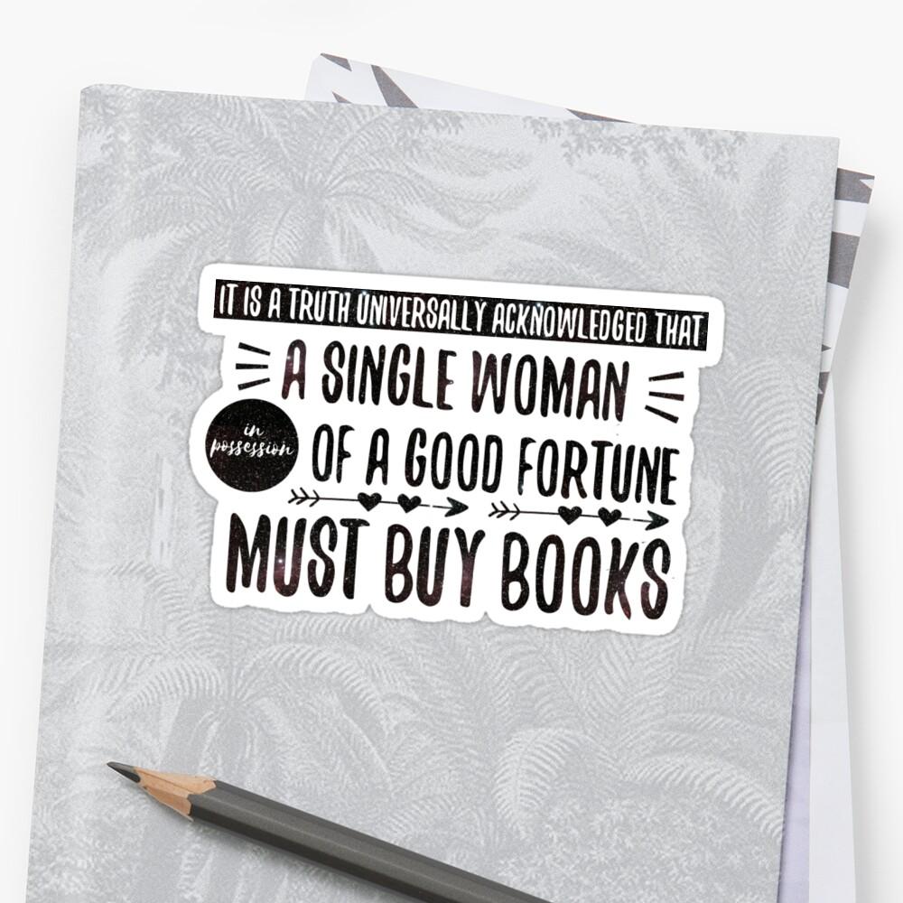 Feminist Pride & Prejudice Sticker