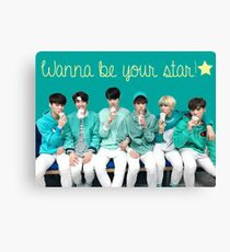ASTRO Wanna Be Your Star Canvas Print
