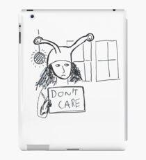 Exam Pressure - Don't Care iPad Case/Skin