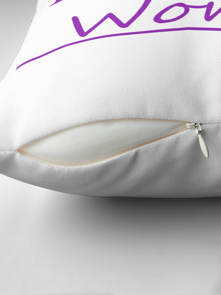 Alternate view of Empower Women Throw Pillow