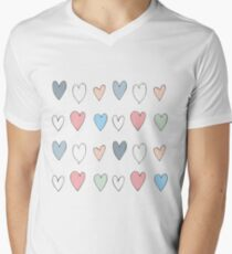 Colorful hearts pattern T-Shirt