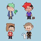 Youtube Squad by asparagus-man