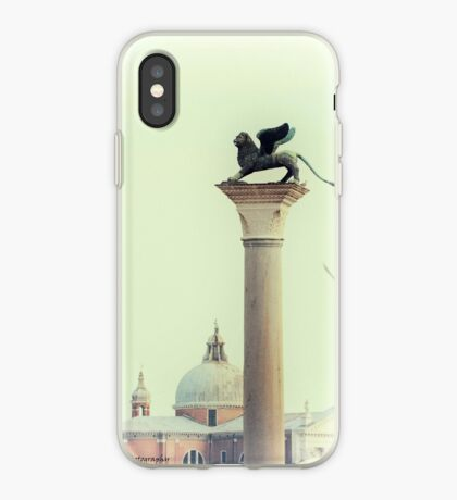 Winged Lion of Venice iPhone Case