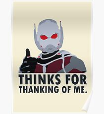 Thinks for thanking of me. Poster