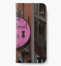 Backstreet Betty's Boutique Sign iPhone Wallet/Case/Skin