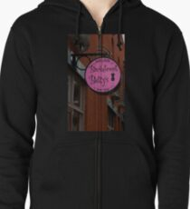 Backstreet Betty's Boutique Sign Zipped Hoodie