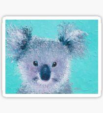 Koala painting Sticker