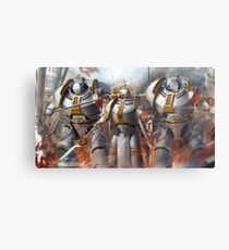 Warhammer 40K Grey Knights Metal Print