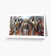 Warhammer 40K Grey Knights Greeting Card