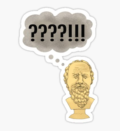 Socratic Method, Internet Style Sticker