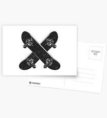 Skateboard X Postcards