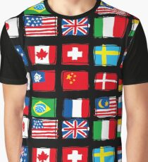 National flag Graphic T-Shirt