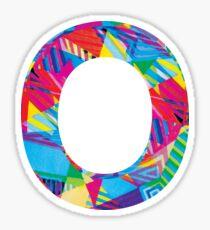 Fun Letter - O Sticker