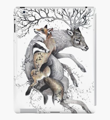 protect our wildlife  iPad Case/Skin