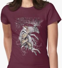 protect our wildlife  Womens Fitted T-Shirt
