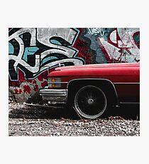 Graffiti Lowrider Photographic Print