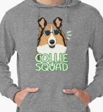 COLLIE SQUAD (rough + sable) Lightweight Hoodie