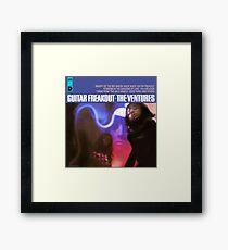 Guitar Freakout Framed Print