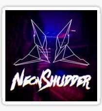 neon shudder - retrofied Sticker