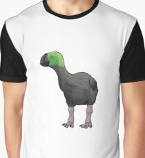 Giant future crow with green plumage Graphic T-Shirt