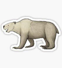Kolponomos, the bear-sized oddity Sticker